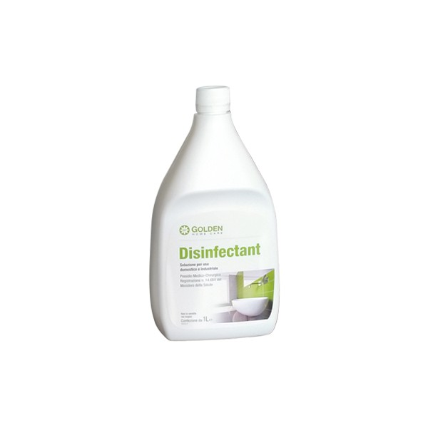 Disinfettante Battericida, elimina virus e microorganismi.