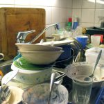 sgrassare pulire la cucina