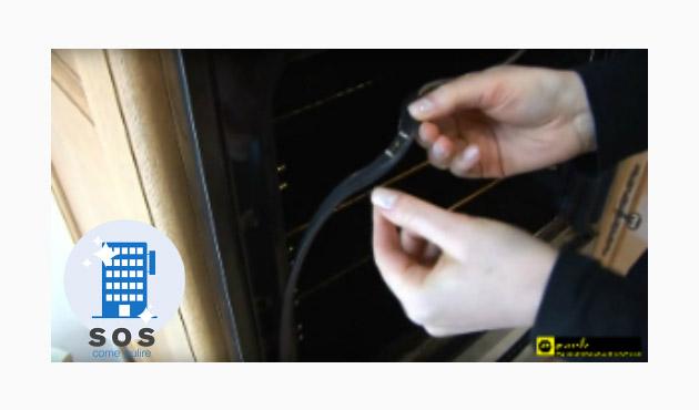 pulire forno guarnizioni