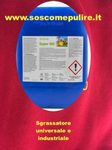 Read more about the article Sgrassatore professionale universale